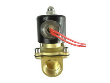 "NEW 220v electric valvola solenoide g3 / 4 ""(bsp) di aria, acqua, gas diesel"