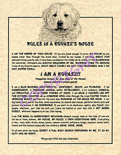 Rules In A Kuvasz's House