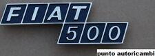SCRITTA FREGIO LOGO POSTERIORE FIAT 500 F R  PLASTICA