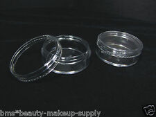50 Beauty Containers Clear Plastic Makeup Cosmetic Jars 20 Gram 20 ml | 5048