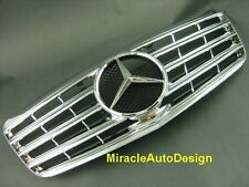 CHROME FRONT GRILLE FOR 2007-2009 MERCEDES BENZ W211 E-CLASS (Facelifted Model)