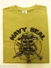 Maglietta Militare T-shirt  Us Navy Seal con respiratore