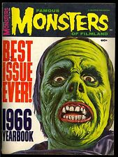 FAMOUS MONSTERS of FILMLAND 1966 YEARBOOK PETER LORRE LON CHANEY   COMIC KINGS