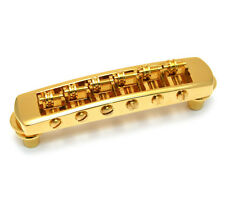 Schaller Gold Roller Tune-O-Matic Bridge for Gibson Les Paul/SG® GB-0590-002