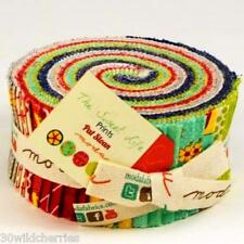 "The Sweet Life Prints Jelly Roll Moda Fabric Quilt 100% Cotton 40 2.5"" Strips"