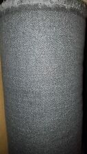 3m Grey herringbone wool tweed fabric,material for coats ,suits 150cm wide