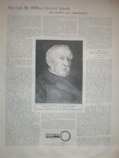 Article war correspondent Sir William Howard Russell 1907