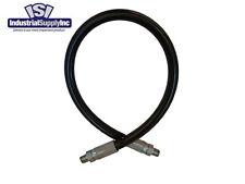"3/8"" x 120"" 2-wire Hydraulic Hose Assembly w/Male NPT"