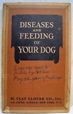 GLOVER'S IMPERIAL DOG MEDICINES DISEASES AND FEEDING OF DOGS BROCHURE 1928