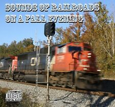 Train Sounds On CD - Sounds of Railroads On A Fall Evening