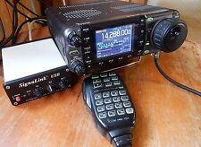 ICOM IC-7000 mobile Transceiver with MARS/CAP, SignaLink and Programming Cable