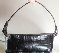 Mulberry Vintage Black Congo Leather Hand/Shoulder Bag - VERY NICE!!