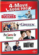 The Secret of My Success / Greedy /For Love or Money / The Hard Way 4 Movie Set