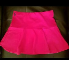Ralph Lauren Polo Girls Fushia Tennis Skirt size 8-10