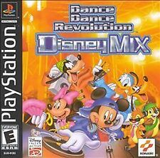 Dance Dance Revolution: Disney Mix (Sony PlayStation 1, 2001) PERFECT CONDITION