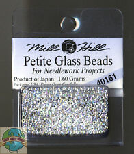 Mill Hill Petite Glass Beads 1.60g Crystal #40161