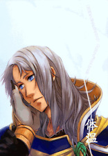 Dissidia Final Fantasy Doujinshi Comic Manga Garland x Warrior of Light Body Te