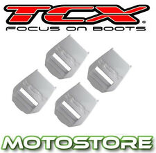 TCX REPLACEMENT BUCKLE RECEIVERS PRO 2.1 /  1.1 / X-MUD / PRO 2 / COMP 2 WHITE