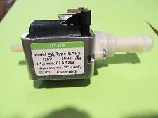 NEW ULKA WATER PUMP VIBRATION EAP5 120V 52W 2014 Delonghi Saeco