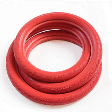 Urban Bicycle Tires 700 x 23C Fixie Fixed Gear Track Road Bike Tire  Red