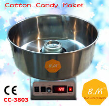 B.M New Cotton Candy Floss Maker Machine Electric Commercial Party Store Booth