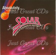 "Absolutely The Very Best Of Solar Records Vol.2 (12"" Versions) VERY RARE CD"