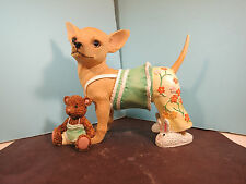 AYE CHIHUAHUA-Pajamas- Chihuahua  Figurine By Westland-New In Box