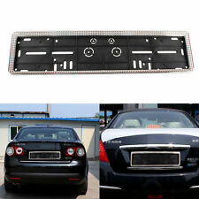New European Universal Car License Plate Frames EU Auto Number Plate Frame Mount