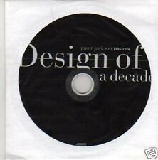 (495U) Janet Jackson, Design Of A Decade 86-96 -1995 CD