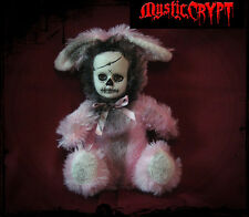 Pink Day of the Dead Rabbit Bunny Creepy Horror Doll Christie Creepydolls