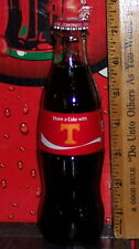 2017 COCA COLA SHARE A COKE WITH TENNESSEE VOLUNTEER 8 OZ GLASS COCA COLA BOTTLE