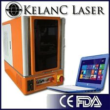 Table Top Enclosed 20W Fiber Optic Marking / Marker / Engraving Laser FDA NEW