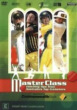 Masterclass - Coaching Tips From Australian's Top Cricketers (DVD, 2003)