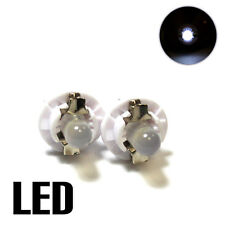 2x White LED [509t,U509TB] 12v Dashboard Light Bulbs XE5