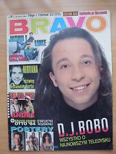 BRAVO 6/95 DJ BOBO,Keanu Reeves,Slash,Nirvana,Kelly Family,Madonna,Culture Beat