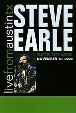 STEVE EARLE - Live From Austin TX (2000) DVD [J148]