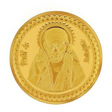 RSBL eCoins Sainathji 10 gm Gold Coin 24kt purity 995 Fineness- WITH TAX INVOICE