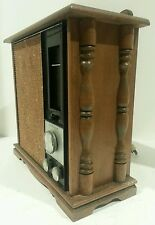 Vintage RCA Solid State Radio RLC4 7L - Maple Wood Finish - Works
