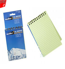 50 Pages A6 Waterproof Notepad Army Military All Weather Outdoor Cadet Notebook
