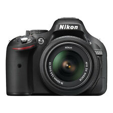 Nikon D5200 Digital SLR Camera 24.1MP CMOS with 18-55mm AF-S DX VR Lens Black