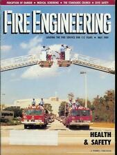 FIRE ENGINEERING MAGAZINE MAY 1989 ISSUE MEDICAL SCREENING/DIVE SAFETY