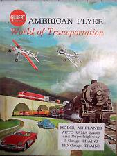 American Flyer No. D2278 Dealer Catalog World of Transporation 36 Pages