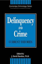 Delinquency and Crime: Current Theories (Cambridge Studies in Criminology),ACCEP