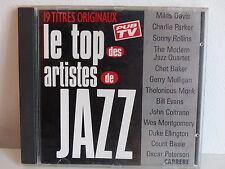 CD ALBUM Le top des artistes de jazz MILES DAVIS / PARKER / ROLLINS .. 98578