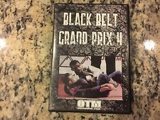 BLACK BELT GRAND PRIX 4 LIKE NEW NO SCRATCHES DVD 2007 BRAZILIAN JIU JITSU OOP!