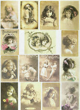 Ricepaper/Decoupage paper,Scrapbooking Sheet Beautiful Girls