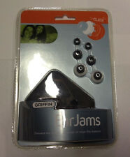 Griffin EarJams Earbud Covers w/ Carrying Case For Apple iPod Ear Buds Ear Jams