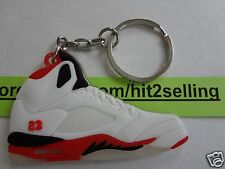 AIR JORDAN Retro 5 - Keychain Cork Bin DB KD HEATS MVP 1,3,5,6,7,9,11 NEW!!