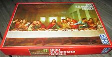Vtg F X Schmid 1000 Piece Jigsaw Puzzle The Last Supper Leonardo da Vinci HTF