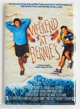 Weekend at Bernie's FRIDGE MAGNET (2 x 3 inches) movie poster